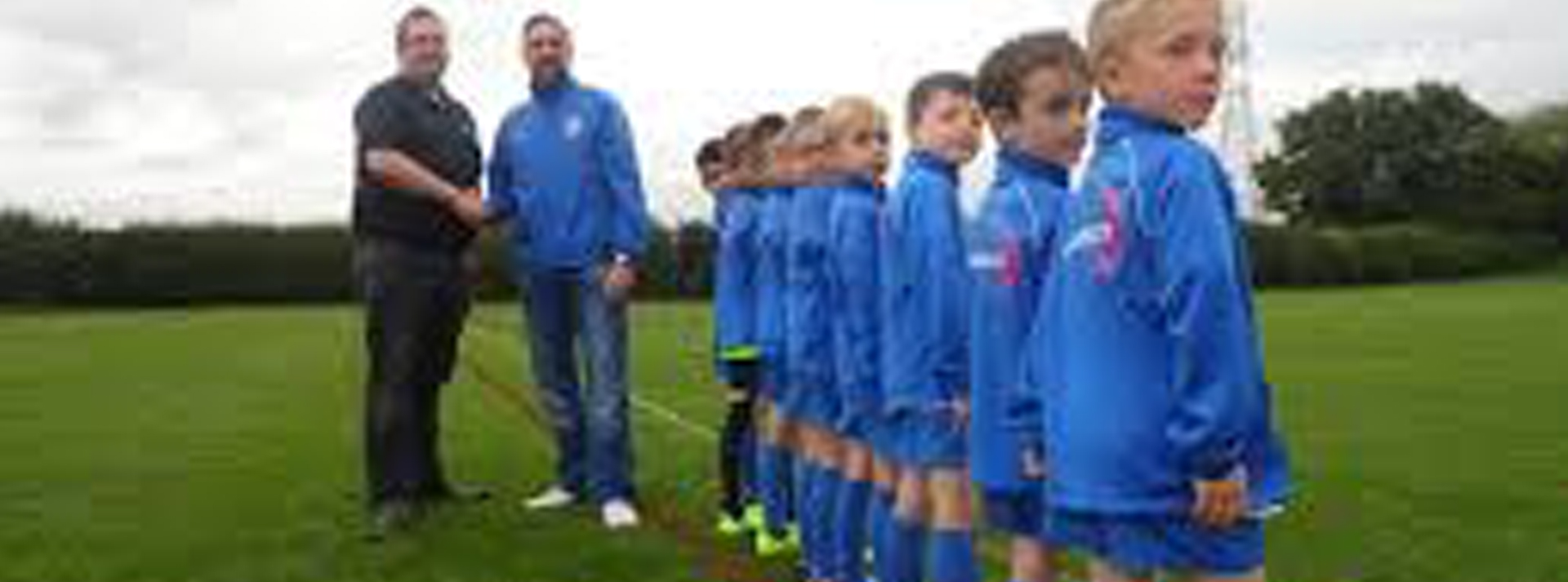 Fusion sponsors and supplies Coleshill Under 10's Training Kits