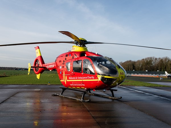Midlands Air Ambulance Charity continues to provide lifechanging services with help from Staffordshire business communications provider